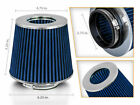 275 Cold Air Intake Dry Filter Universal BLUE For Geo Prizm Spectrum storm