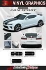 2016 2017 2018 Chevy Camaro SS RS CAM SPORT Rally Decals Stripe 3M Pro Series