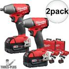 Milwaukee 2755B-22 2pk M18 FUEL 1/2
