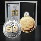 Panthers vs Broncos Super Bowl 50 Official Two-Tone Flip Coin