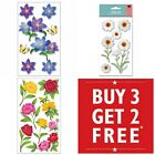Buy 3 Get 2 FREE Jolees Boutique Sticko Dimensional Stickers Flowers Floral