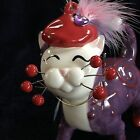 WHIMSICLAY BY AMY LACOMBE RED HAT CAT