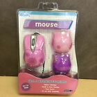 Cyber Gear Pink Daisy USB Optical Mouse With 3 Changing Faceplates 91897