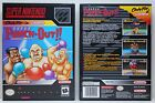 Super Punch Out Super Nintendo SNES Custom Case NO GAME