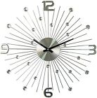 Mid Century Modern Wall Clock Starburst Sunburst Decorative Contemporary Decor