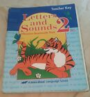 A Beka Letters and sounds 2 phonics seatwork text teacher key