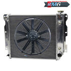 Aluminum Radiator For 1987 2002 Jeep Wrangler TJ YJ V8 Conv 89 95 1998 2000 +Fan