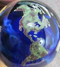 LUNDBERG STUDIOS WORLD PAPERWEIGHT 1992