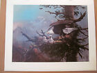 Ted Blaylock - Beautiful Eagle & Eaglets Print 39/450 Signed