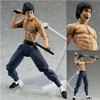 Collectible Bruce Lee Model Statue Doll Kung Fu Nunchakus Action Figure Toy Gift