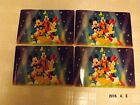 Walt Disney Placemats Mickey Mouse and Friends Set of 4