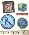 Girl Scouts Lot Of 5 Unused Patches Booth Sales Caring Autumn