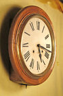 RESTORED Chiming Antique Gallery Wall Clock Excellent Running Condition