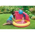 Baby Pool Inflatable Blow Up Butterfly w Sun Shade by Play Day Pink Yellow Blue