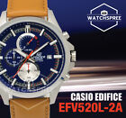 Casio Edifice Chronograph Watch EFV520L-2A
