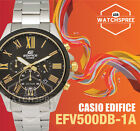 Casio Edifice Chronograph Watch EFV500DB-1A