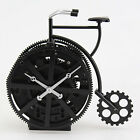 Retro Craft Bicycle Rotary Gear Desk Clock Art Table Clocks Modern Design 67