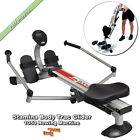 Stamina Rowing Machine Body Trac Glider 1050 Workout Exercise Fitness Gliders