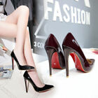 Sexy Womens Pointed Toe Ladies Classic Pumps Fashion High Heel Stiletto Shoes