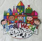 DISNEY Its a Small World Printed Scrapbook Page Printed Paper Piece SSFFDeb