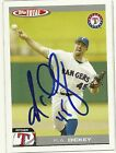 2004 Topps Total RA R.A. DICKEY Signed Card autograph RANGERS BLUE JAYS METS