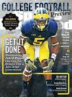 MICHIGANS JABRILL PEPPERS 2016 SI COLLEGE FOOTBALL COVER POSTER