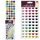 Jolees Boutique Sticko Dimensional Recollection Happy Smile Gel Sticker