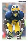 GIANT 13x19 PRINT MICHIGAN SUPERSTAR LINEBACKER JABRILL PEPPERS GAME POSTER