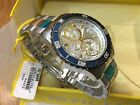 23994 Invicta Mens 45mm Pro Diver Quartz Silver Dial Two-Tone SS Bracelet Watch