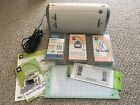 CRICUT PERSONAL ELECTRONIC CUTTER MACHINE + EXTRAS Cartridges Overlay NEW