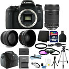 Canon EOS Rebel 760D T6s 242MP D SLR Camera + 18 135mm Lens 16GB Accessory Kit