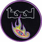 Tool Flaming Eye Logo Rock Music Band Embroidered Iron On Applique Patch p568