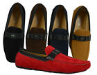 Mens Giovanni Dress Shoe Driving Moccasin Wedding Loafer Italian Casual M788 39