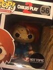 Childs Play 2 Chucky Pop Movies Vinyl Action Figure Funko Hot Topic Exclusive