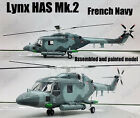 French Navy Lynx Mk2 British military helicopter 1 72 no diecast Easy model