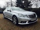 LARGER PHOTOS: 2010 Silver Mercedes E CLASS E350 CDI BLUEEFFICIENCY SPORT AUTO