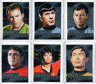 STAR TREK TOS 50TH ANNIVERSARY MIRROR HEROES CARD SET MM1 - MM9 + M8 ARCHIVE BOX