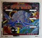 Williams Firepower Pinball Backglass