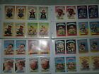 RARE Huge Lot of GARBAGE PAIL KIDS ORIGINAL 244 cards most cards near mint.
