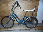Vintage 1976 Schwinn Stingray Fair Lady 3 Speed Bike, Banana Seat
