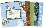 "Wilmington Print 5 Karat Mini-Gems Winter's Eve (24) 5"" Fabric Squares"
