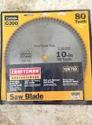 Craftsman Professional 926792 10 x 80 Tooth Carbide Saw Blade Fine Finish Trim