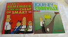 Lot of 2 DILBERT Softcover BOOKS - Cheap or Smart & CUBEVILLE - Excellent!