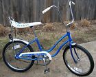 SCHWINN BLUE FAIR LADY BANANA SEAT STINGRAY BICYCLE 1980