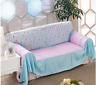 Cotton L-Shape Sofa xhounge Couch Cover Protector for 1 2 3 4 seaters ldxh xh