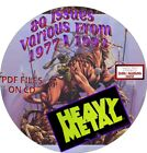 HEAVY METAL MAGAZINE 69 ISSUES DATES FROM 1977 1993 PDF FILES ON CD