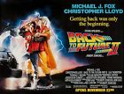 BACK TO THE FUTURE II (1989) ORIGINAL SUBWAY MOVIE POSTER - 46 X 60 - ROLLED