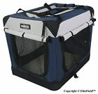 EliteField 3 Door Folding Soft Dog Crate Indoor  Outdoor Pet Home Multiple Si