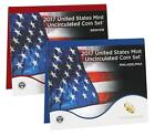 2017 US Mint Uncirculated Coin Set Both Denver And Philly Sealed Box 17RJ