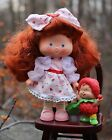 Vintage Strawberry Shortcake herself Berrykin doll & critter